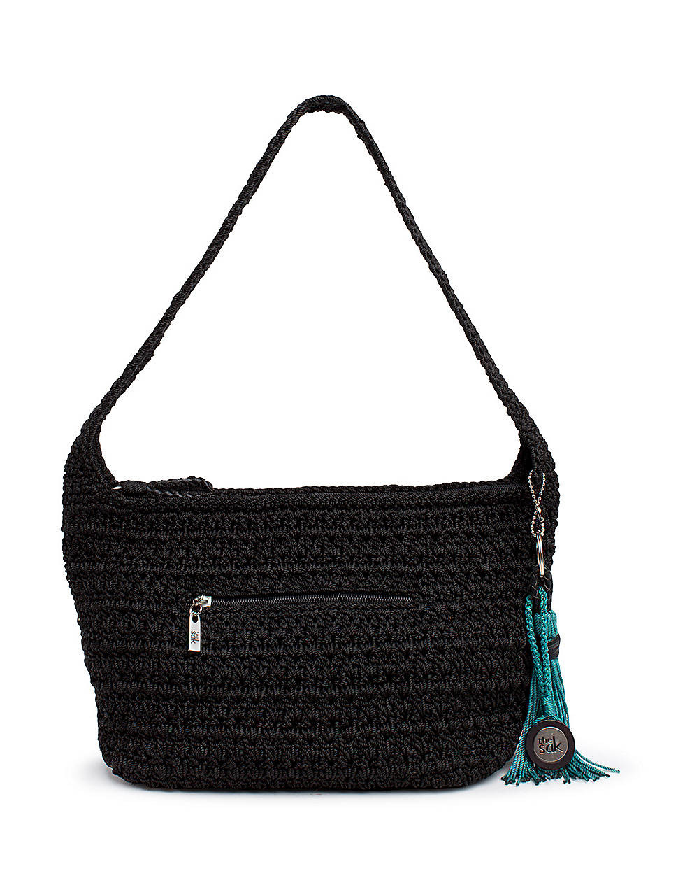 Sak Crochet Bags Luxury the Sak Casual Classics Crochet Hobo Bag In Black Of Amazing 41 Models Sak Crochet Bags