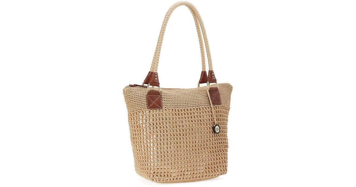 Sak Crochet Bags New the Sak Cambria Crochet tote In Brown Of Amazing 41 Models Sak Crochet Bags