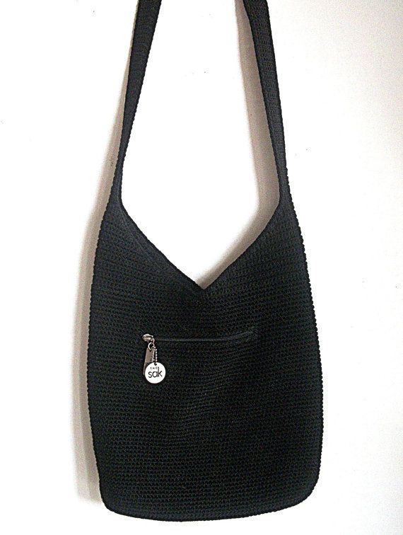 Sak Crochet Bags New Vintage the Sak Classic Design Crochet Bag Black Of Amazing 41 Models Sak Crochet Bags