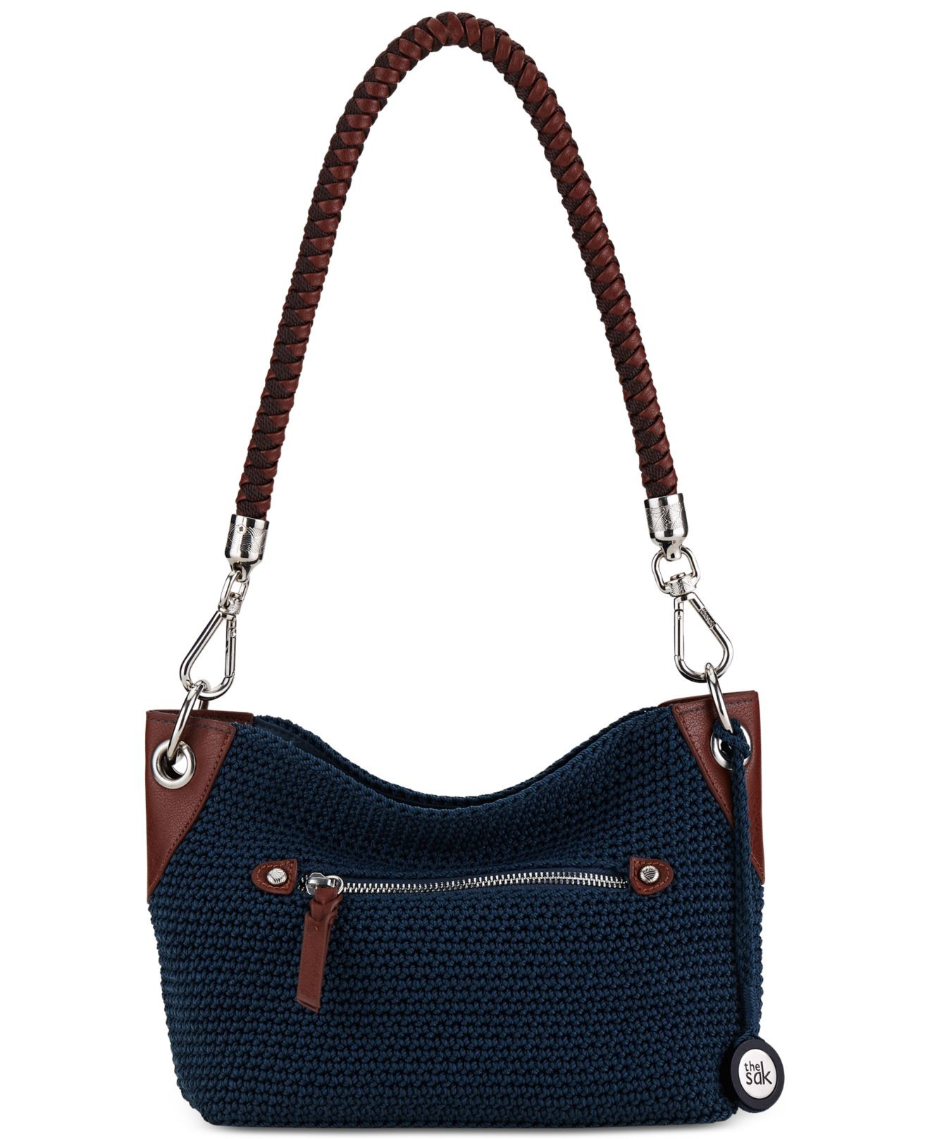 Sak Crochet Bags Unique the Sak Portola Crochet Hobo In Blue Of Amazing 41 Models Sak Crochet Bags