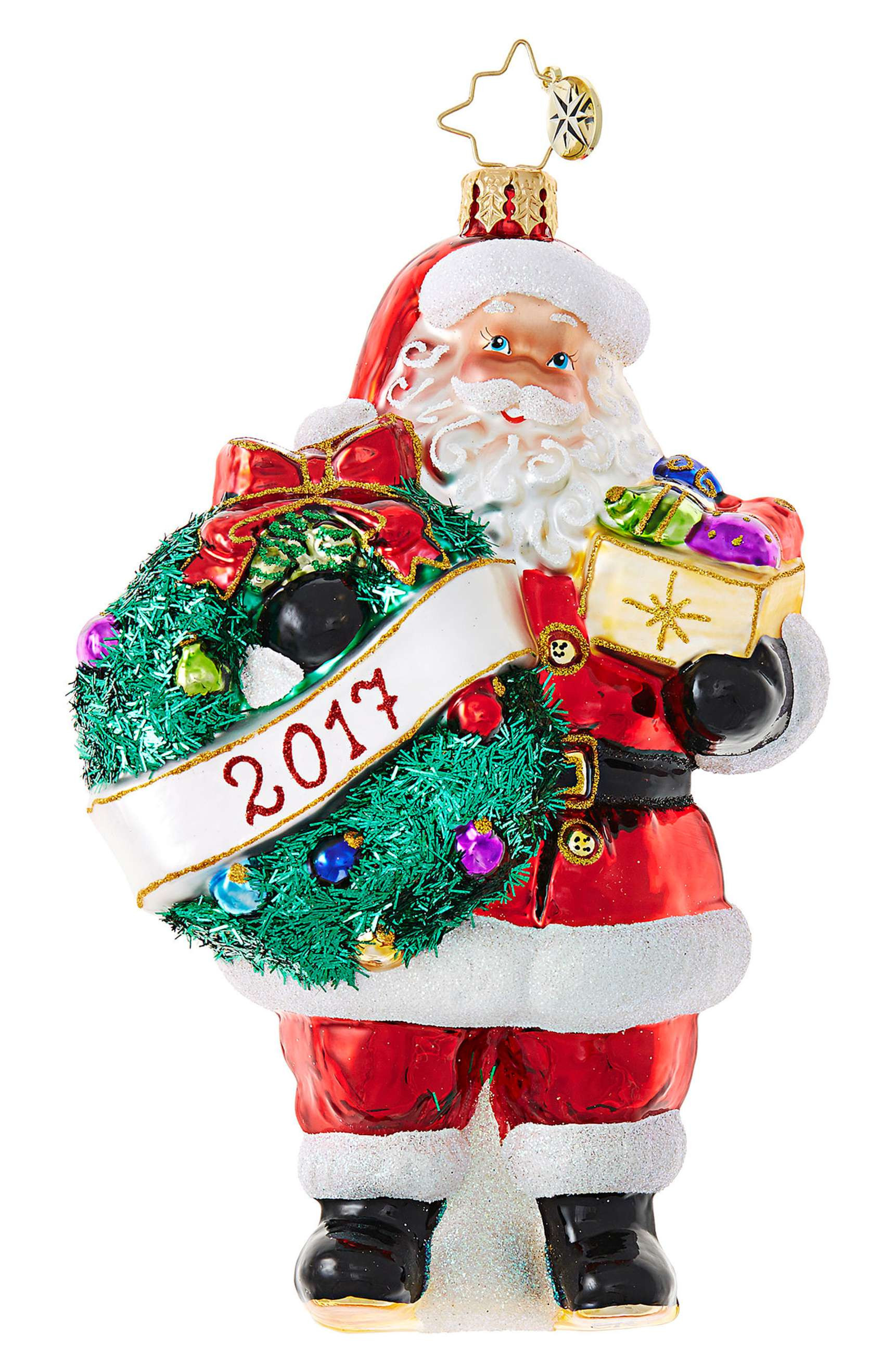 Santa Christmas ornaments Awesome 16 Best Glass Christmas ornaments Bulbs & ornament Sets Of Attractive 48 Pics Santa Christmas ornaments