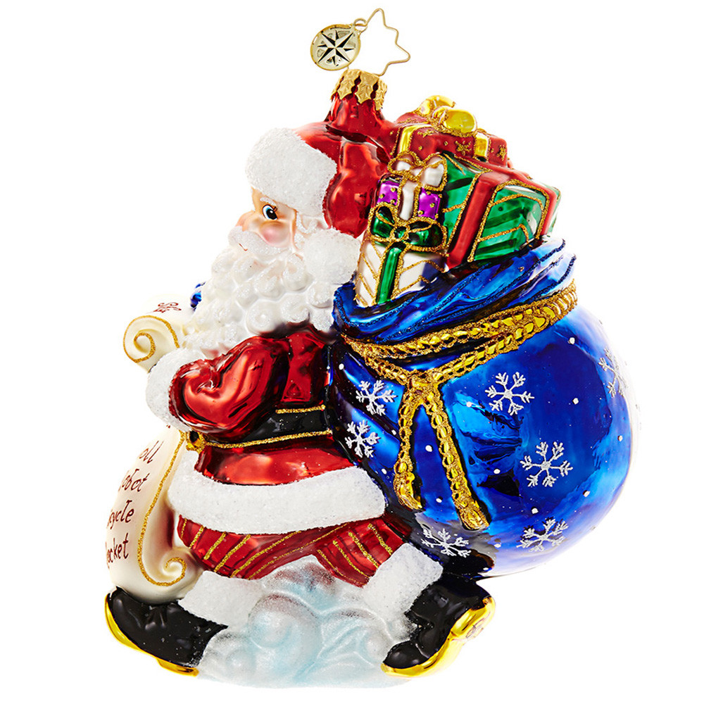 Santa Christmas ornaments Awesome Christopher Radko ornaments 2019 Of Attractive 48 Pics Santa Christmas ornaments