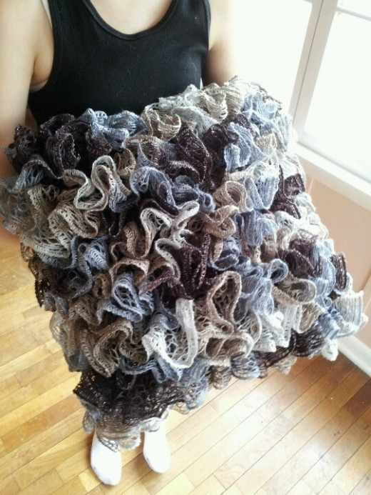 What To Do With Red Heart Boutique Sashay Yarn