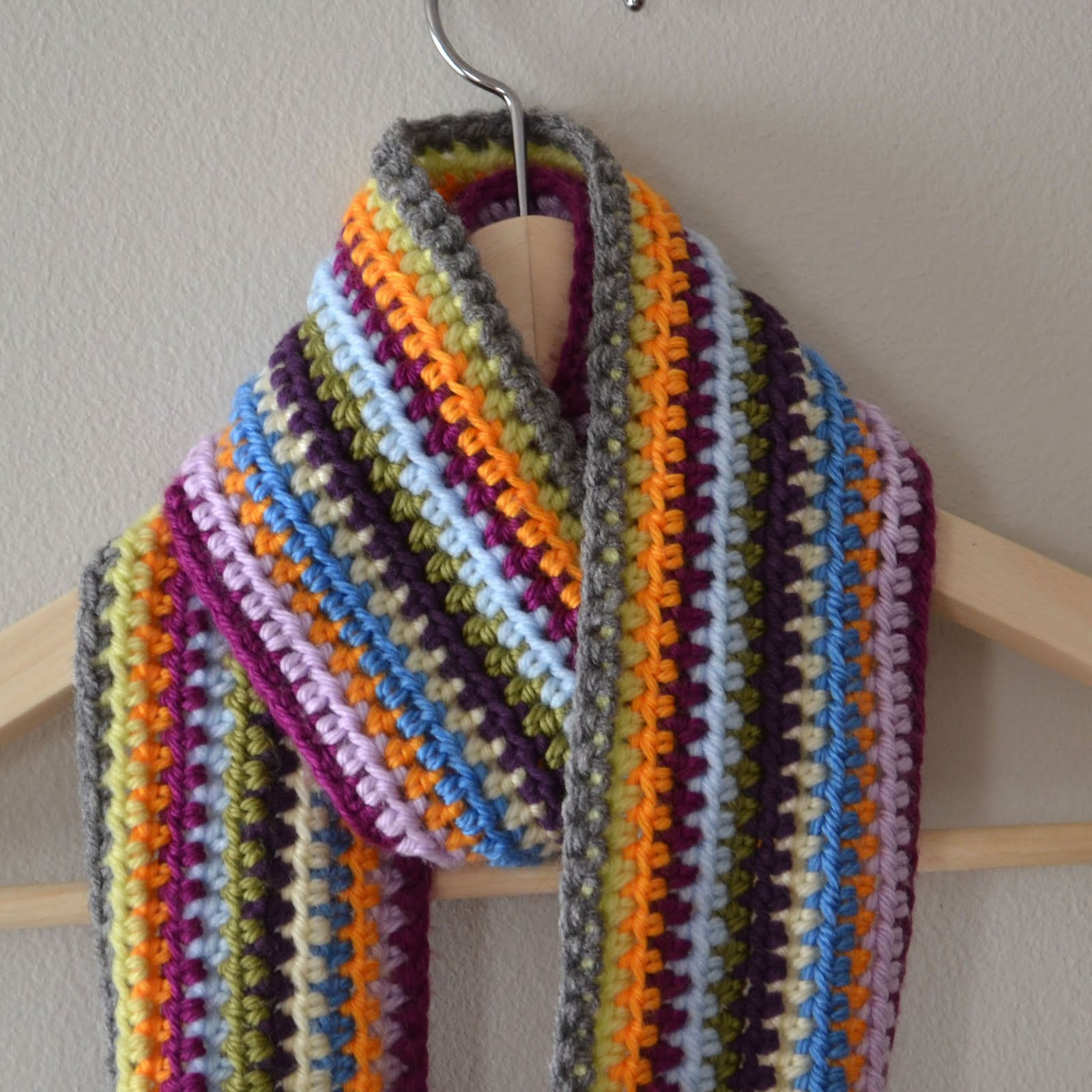 Scarf Crochet Awesome Crochet In Color Scrapadelic Scarf Of Innovative 47 Pictures Scarf Crochet