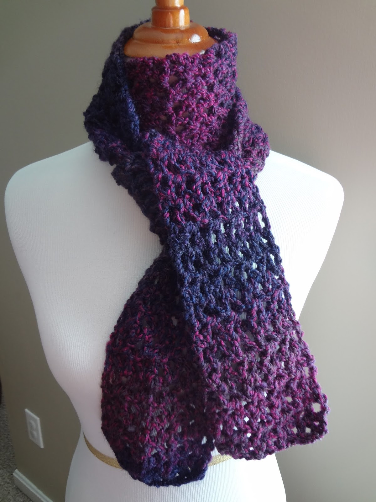 Scarf Crochet New Fiber Flux Free Crochet Pattern Blueberry Pie Scarf Of Innovative 47 Pictures Scarf Crochet