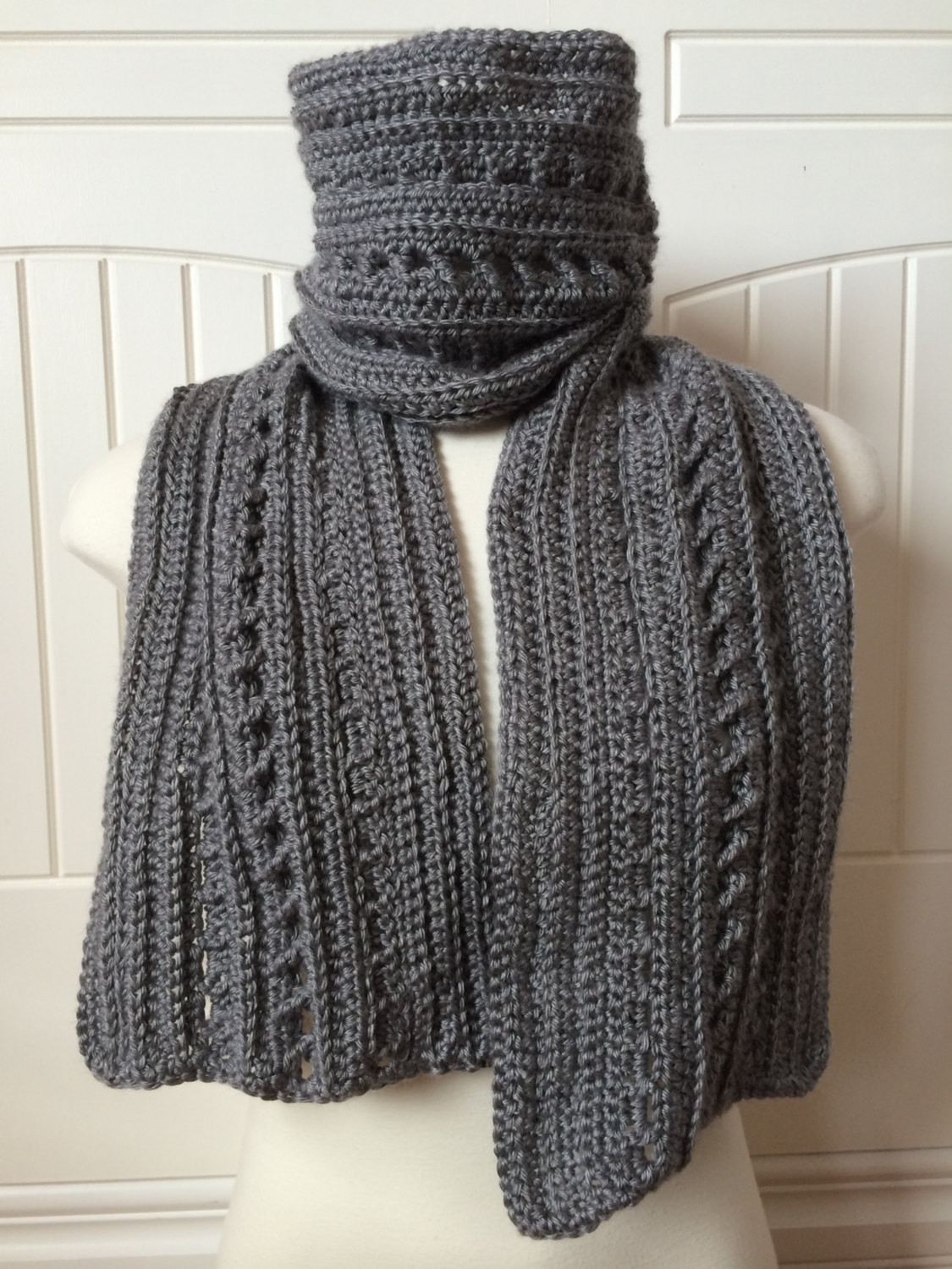 mens scarf pattern crochet Crochet and Knit