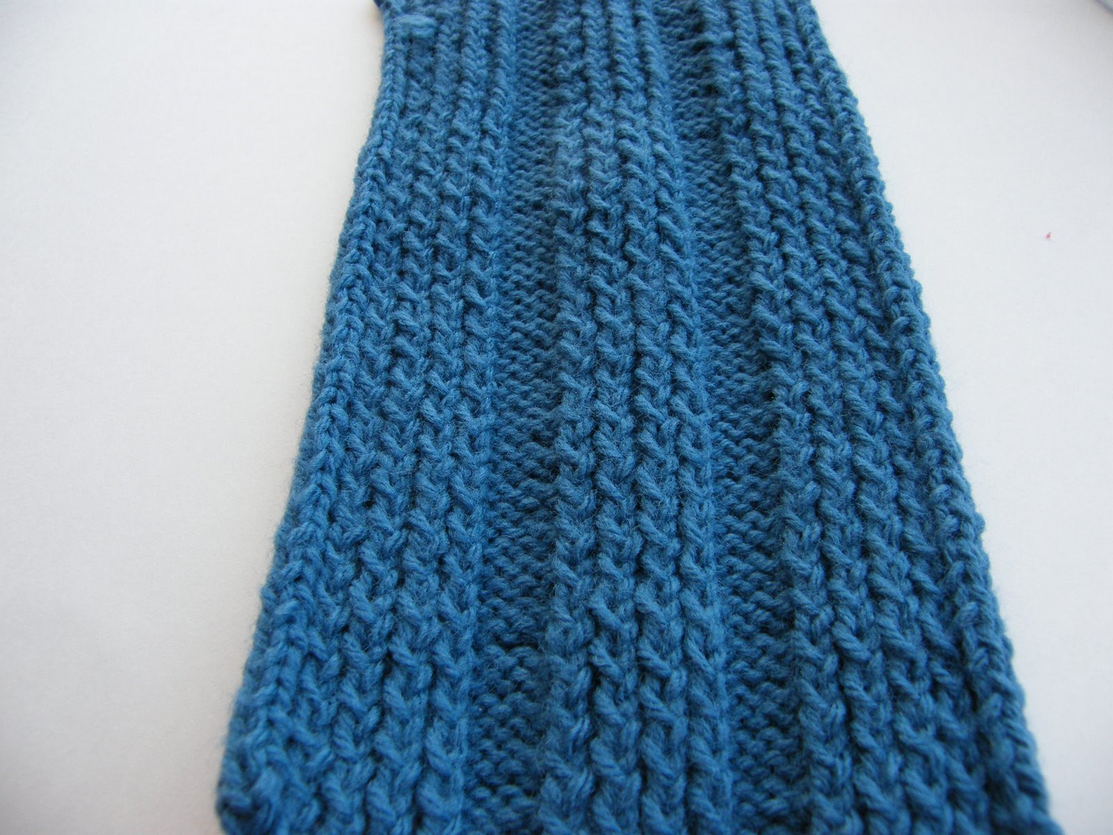Manly Scarf 7 Hunter Blue – Shifting Stitches