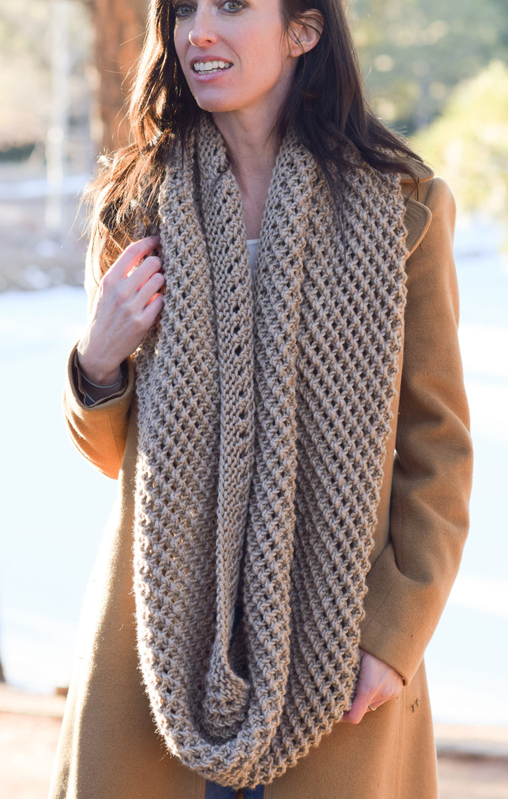Scarf Knitting Patterns Inspirational the Traveler Knit Infinicowl Scarf Pattern – Mama In A Stitch Of Wonderful 41 Pictures Scarf Knitting Patterns