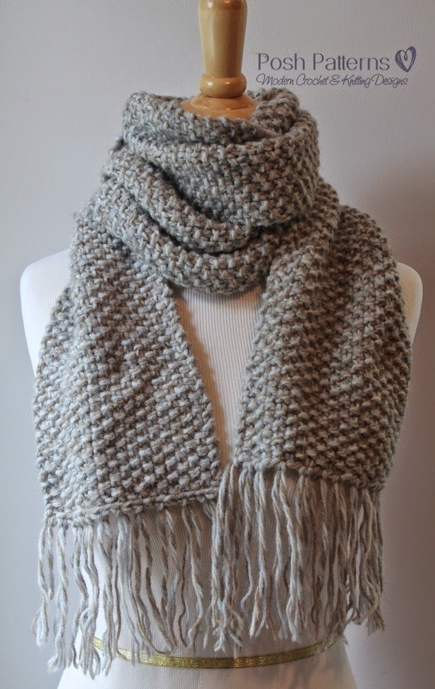 Scarf Knitting Patterns Unique Elegant Seed Stitch Scarf Of Wonderful 41 Pictures Scarf Knitting Patterns