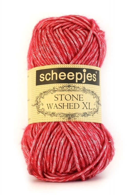 Scheepjes Stone washed XL Red Jasper 847