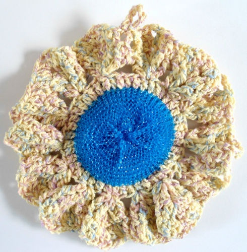 Scrubby Dishcloth Pattern Awesome 17 Best Images About Crochet Kitchen Scrubbies On Of Contemporary 35 Pics Scrubby Dishcloth Pattern