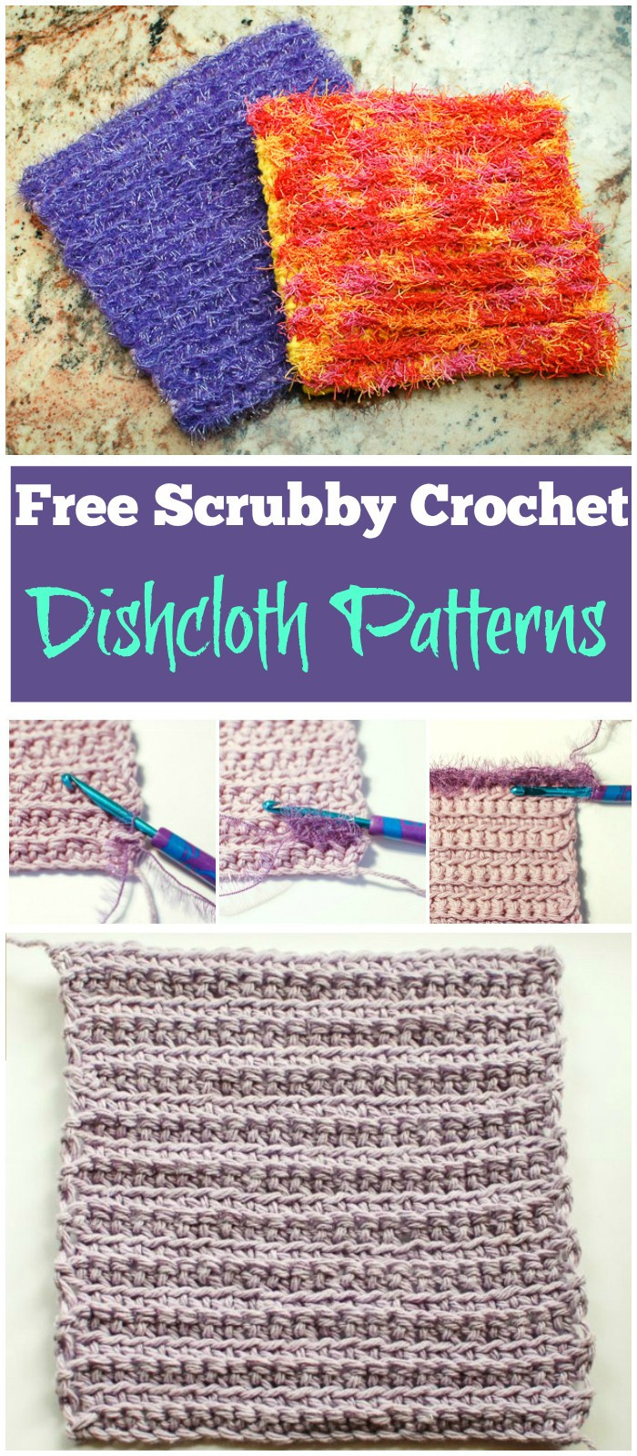 Scrubby Dishcloth Pattern Beautiful Crochet Dishcloth Patterns to Beautify Your Kitchen • Diy Of Contemporary 35 Pics Scrubby Dishcloth Pattern
