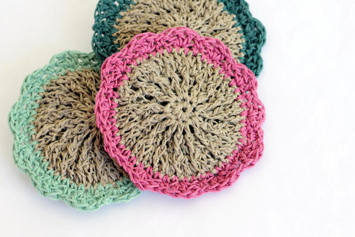 Scrubby Dishcloth Pattern Luxury Flowery Hemp Scrubbies Of Contemporary 35 Pics Scrubby Dishcloth Pattern