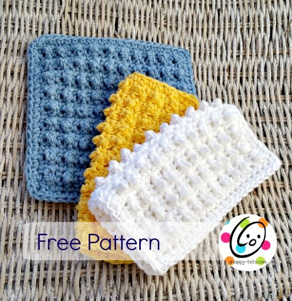 Scrubby Dishcloth Pattern New 368 Best Images About Crochet Dish Cloths & Wash Cloths On Of Contemporary 35 Pics Scrubby Dishcloth Pattern