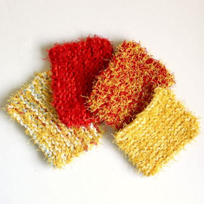 Easy Knit Scrubbies