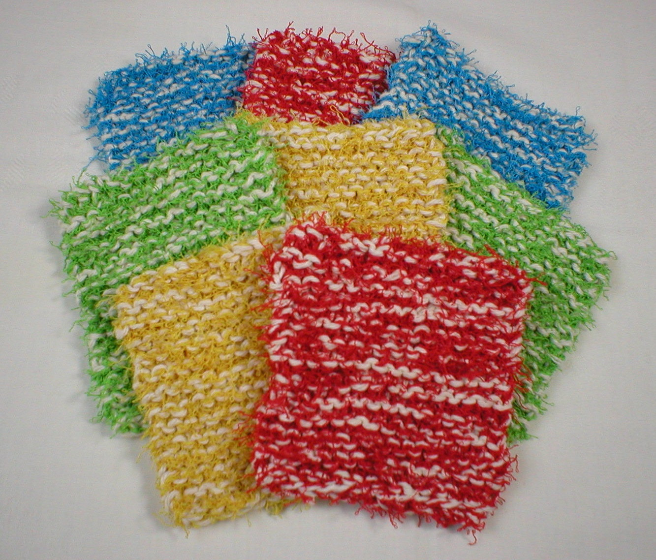 Review of Red Heart Scrubby Yarn