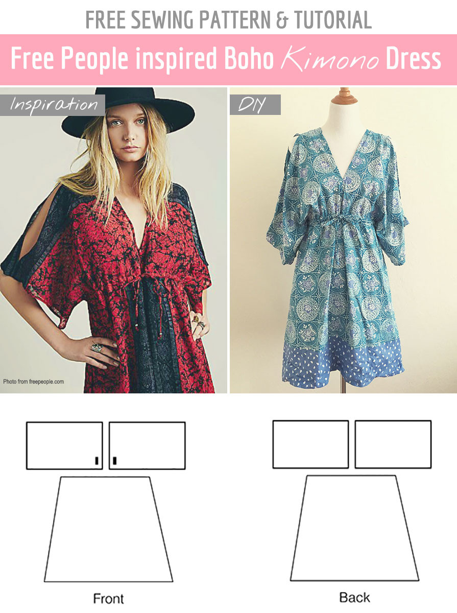 Sew Patterns Awesome Free Sewing Pattern & Tutorial Free People Inspired Of New 44 Pictures Sew Patterns