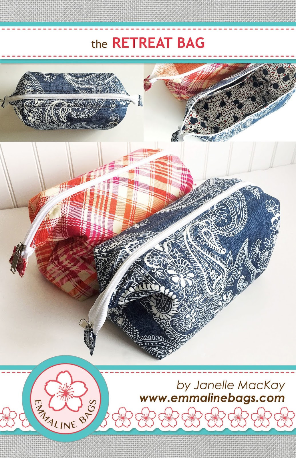 Sew Patterns Awesome the Retreat Bag A Free Sewing Tutorial Of New 44 Pictures Sew Patterns