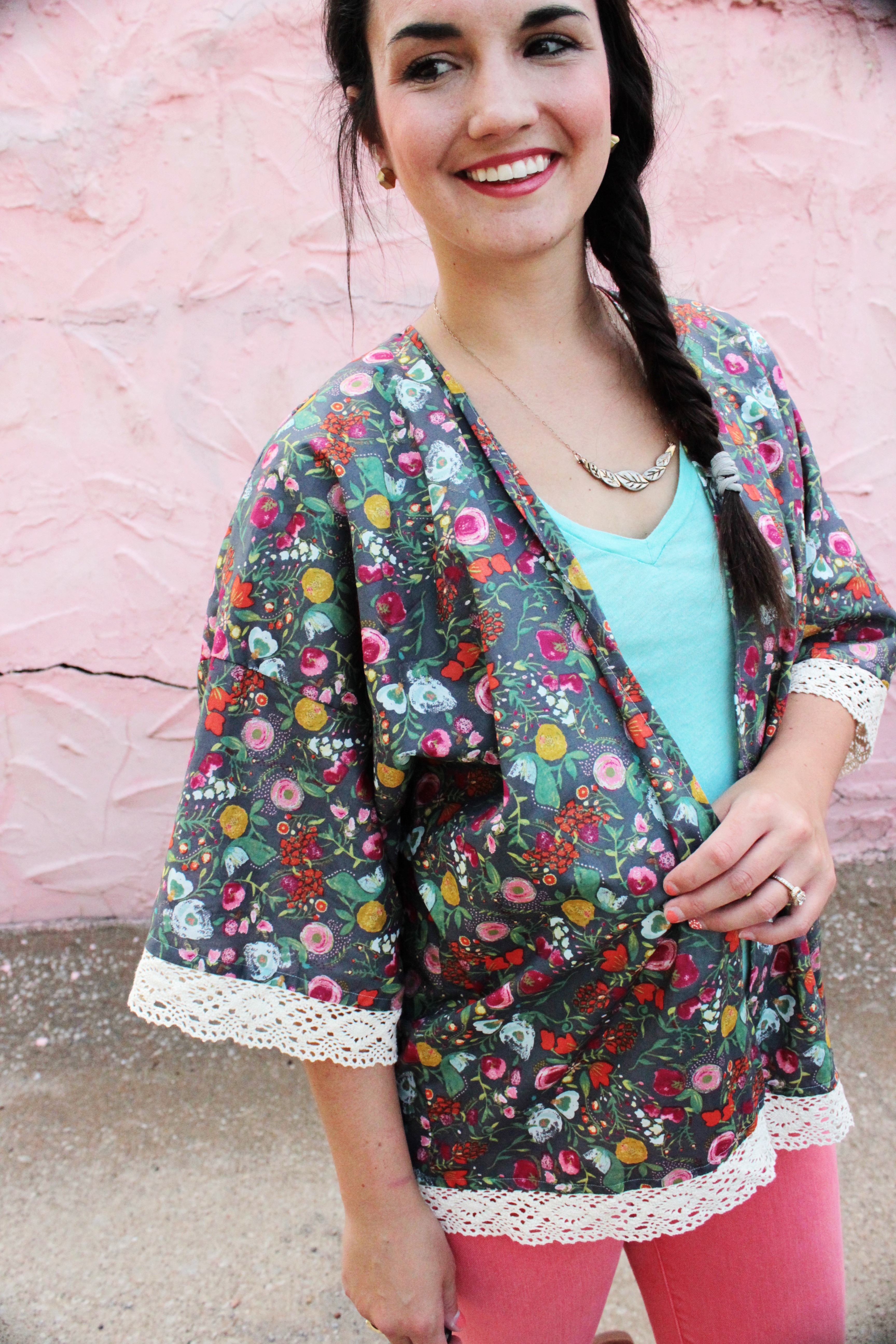 Sew Patterns Best Of Kimono Jacket Free Pattern and Tutorial Of New 44 Pictures Sew Patterns