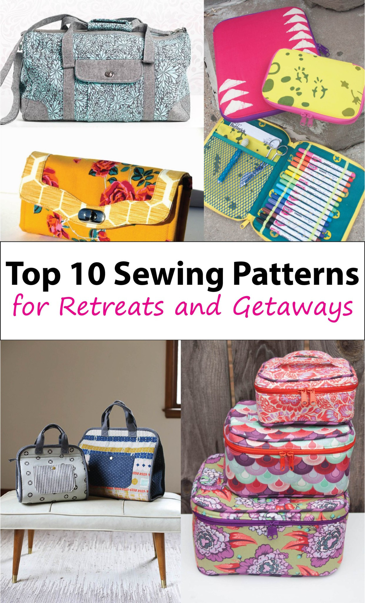 Sew Patterns Fresh 10 Travel Bags for Sewing Retreats Sew Sweetness Of New 44 Pictures Sew Patterns