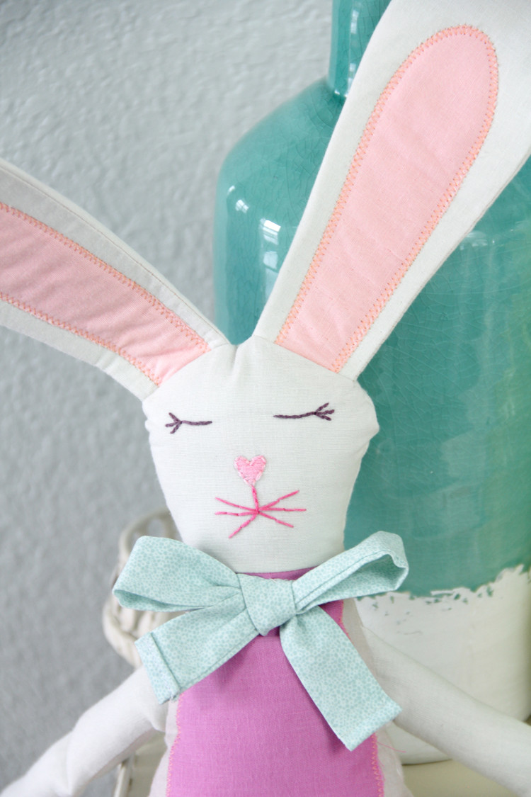 Easter Bunny Sewing Pattern The Sewing Rabbit