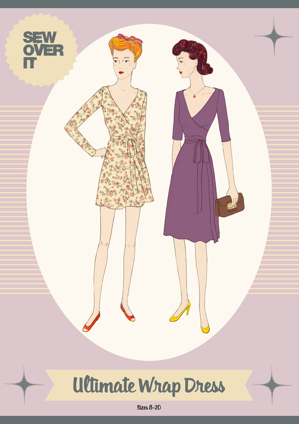 Sew Over It Ultimate Wrap Dress Downloadable Pattern