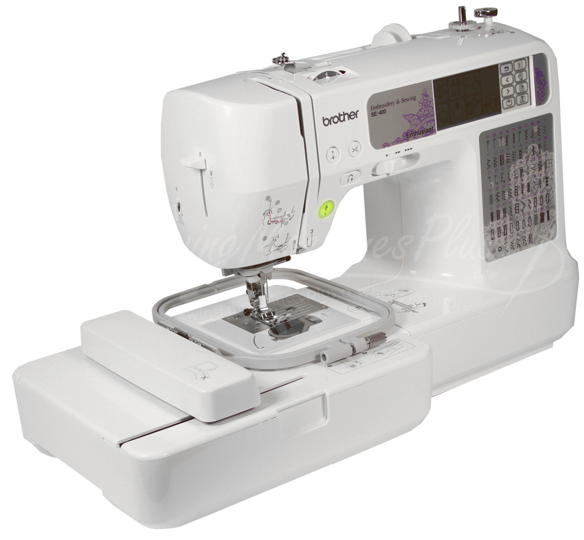 Sewing and Embroidery Machine Awesome Brother Se 400 Sewing & Embroidery Machine with Puter Of Unique 48 Pics Sewing and Embroidery Machine