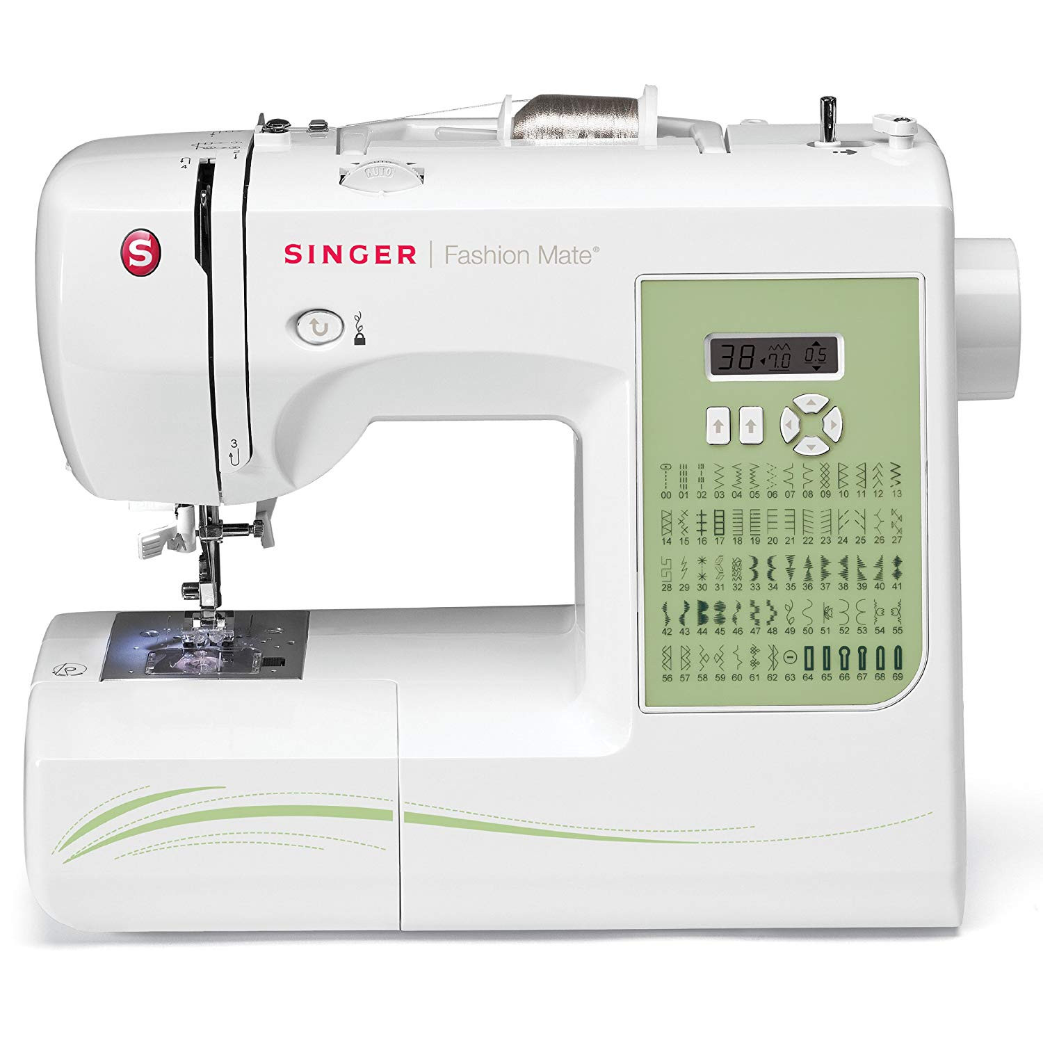 Sewing and Embroidery Machine Best Of Singer 7256 Fashion Mate 70 Stitch Puterized Free Arm Of Unique 48 Pics Sewing and Embroidery Machine