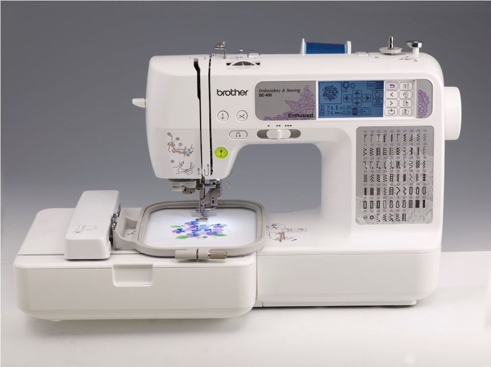 Sewing & Embroidery Machine Brother SE400 puterized USB