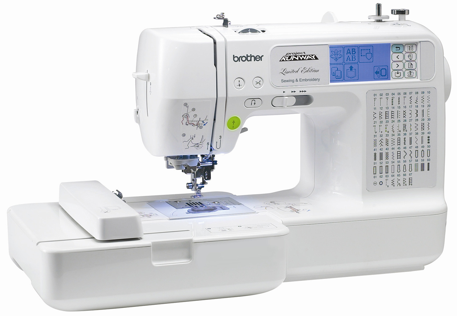 Sewing and Embroidery Machine Luxury Brother Lb6770 Prw Project Runway Limited Edition Sewing Of Unique 48 Pics Sewing and Embroidery Machine