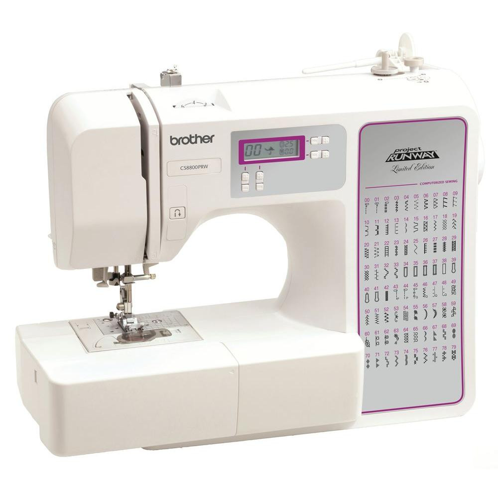 Sewing and Embroidery Machine New Brother 80 Stitch Sewing Machine Cs8800prw the Home Depot Of Unique 48 Pics Sewing and Embroidery Machine