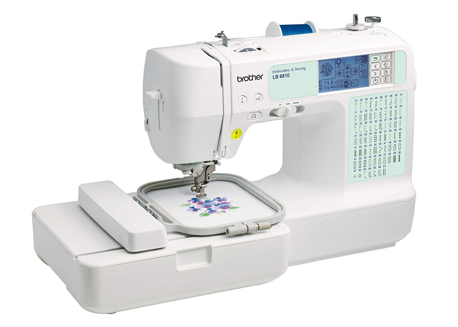Sewing and Embroidery Machine Unique Brother Lb6810 Puterized Sewing Embroidery Machine with Of Unique 48 Pics Sewing and Embroidery Machine