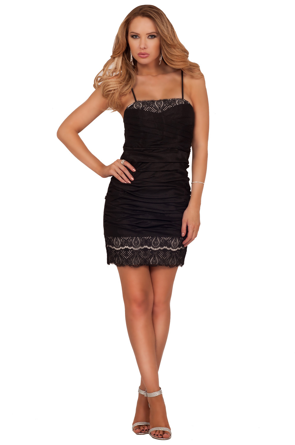 Sexy Crochet Dress Beautiful Y Lace Panel Crochet Cocktail formal Mini Fitted Of Awesome 45 Pictures Sexy Crochet Dress