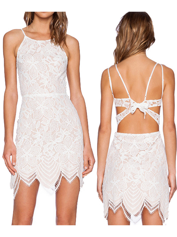 Sexy Crochet Dress New Women Lace Backless Y Sleeveless Crochet Mini Dress Of Awesome 45 Pictures Sexy Crochet Dress