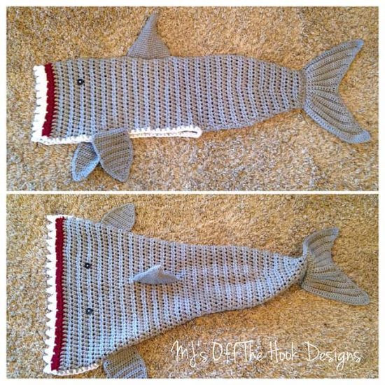 Shark Blanket Pattern Awesome Shark Crochet Of New 46 Pics Shark Blanket Pattern