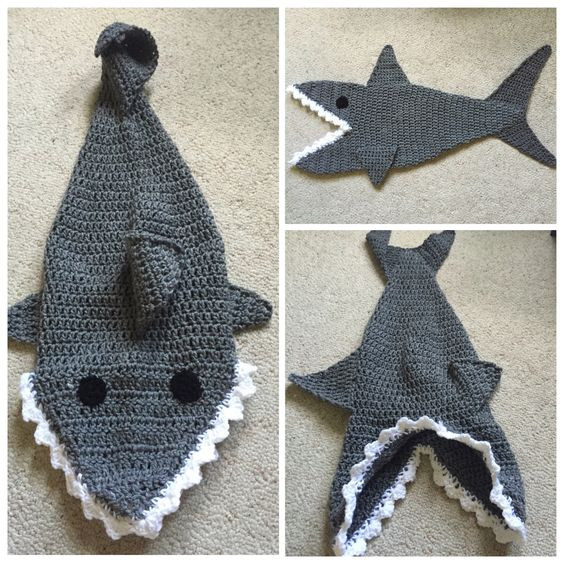 Shark Blanket Pattern Elegant Shark Cocoon Shark Blanket Infant Cocoon Photo Prop Of New 46 Pics Shark Blanket Pattern