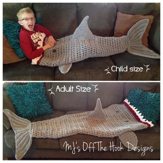 Shark Blanket Pattern Inspirational Shark Crochet Of New 46 Pics Shark Blanket Pattern