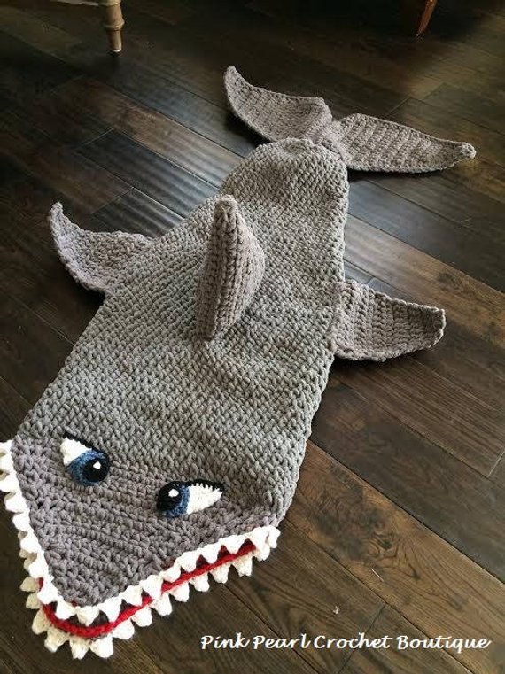 Shark Blanket Pattern Inspirational Shark Tail Cocoon Blanket Of New 46 Pics Shark Blanket Pattern