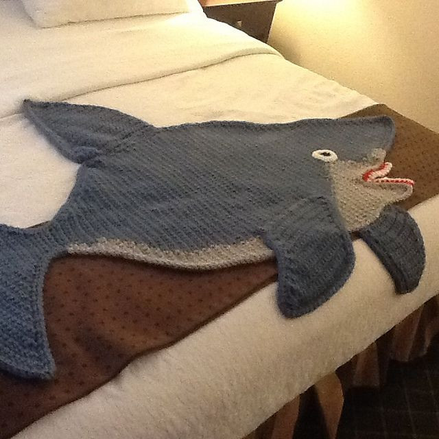 Shark Blanket Pattern Lovely Ravelry Shark Afghan Pattern by Michele Maks Of New 46 Pics Shark Blanket Pattern