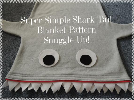 Shark Blanket Pattern Luxury Shark Blanket Bag Pattern and Tutorial Pdf Instant Download Of New 46 Pics Shark Blanket Pattern