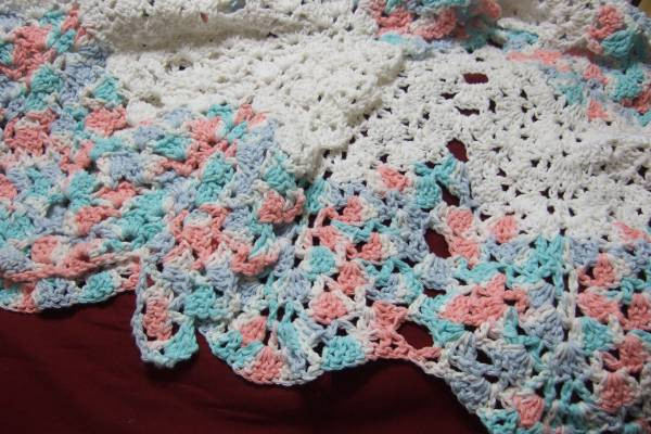 Shell Afghan Crochet Pattern Inspirational Shell and V Stitch Ripple Afghan Afghans Crocheted My Of Amazing 41 Photos Shell Afghan Crochet Pattern