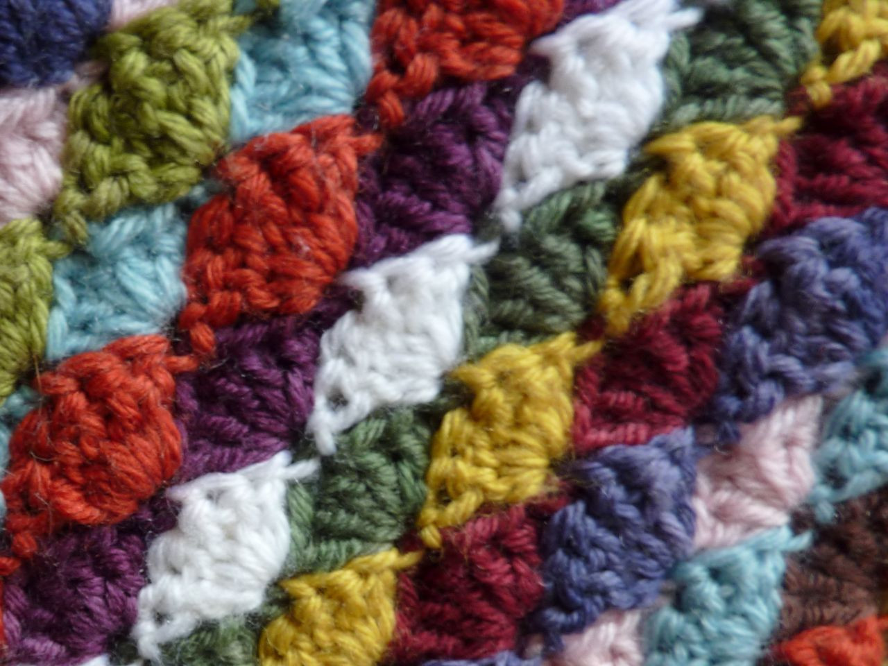 My Rose Valley How to make the Shell Stitch