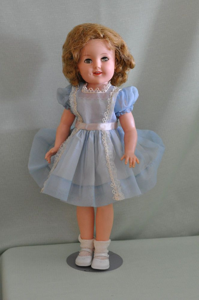 Vintage Ideal Shirley Temple Doll With Flirty Eyes