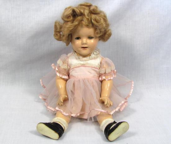 """Shirley Temple Doll Value Best Of Antique Vintage Shirley Temple 18"""" Position Doll W Outfit Of Amazing 43 Pics Shirley Temple Doll Value"""