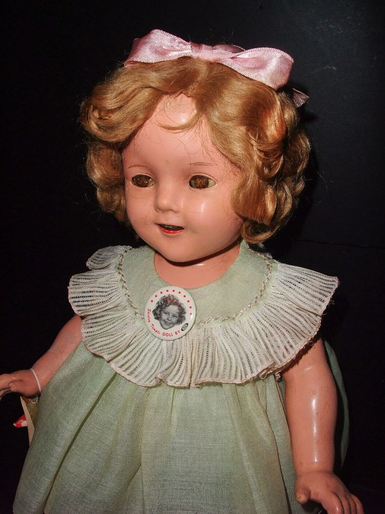 """Shirley Temple Doll Value Inspirational Clearance Sale 1930 S Ideal 18"""" Po Shirley Temple Doll Of Amazing 43 Pics Shirley Temple Doll Value"""