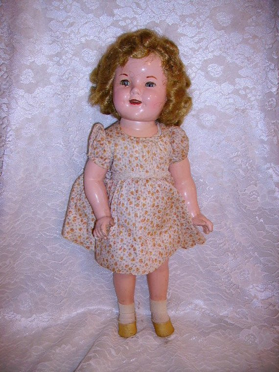 Shirley Temple Doll Value Lovely Vintage 1937 Position Shirley Temple Doll In Dress Needs Of Amazing 43 Pics Shirley Temple Doll Value