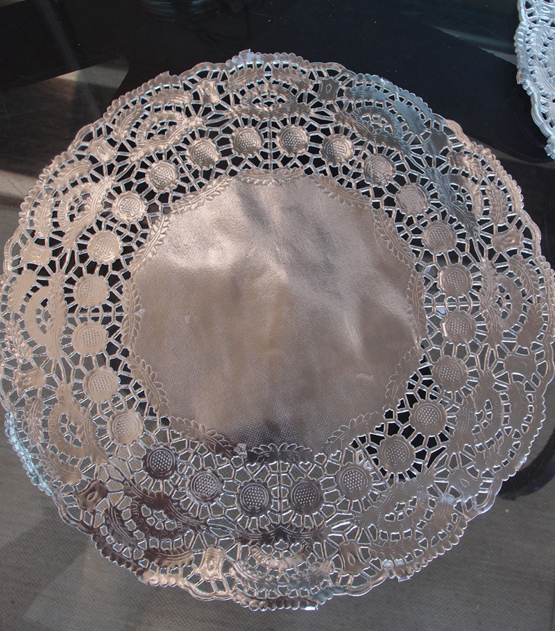 "Silver Doilies Awesome 11 5"" Round Silver Foil Doilies 50 Pack Of Top 47 Pictures Silver Doilies"