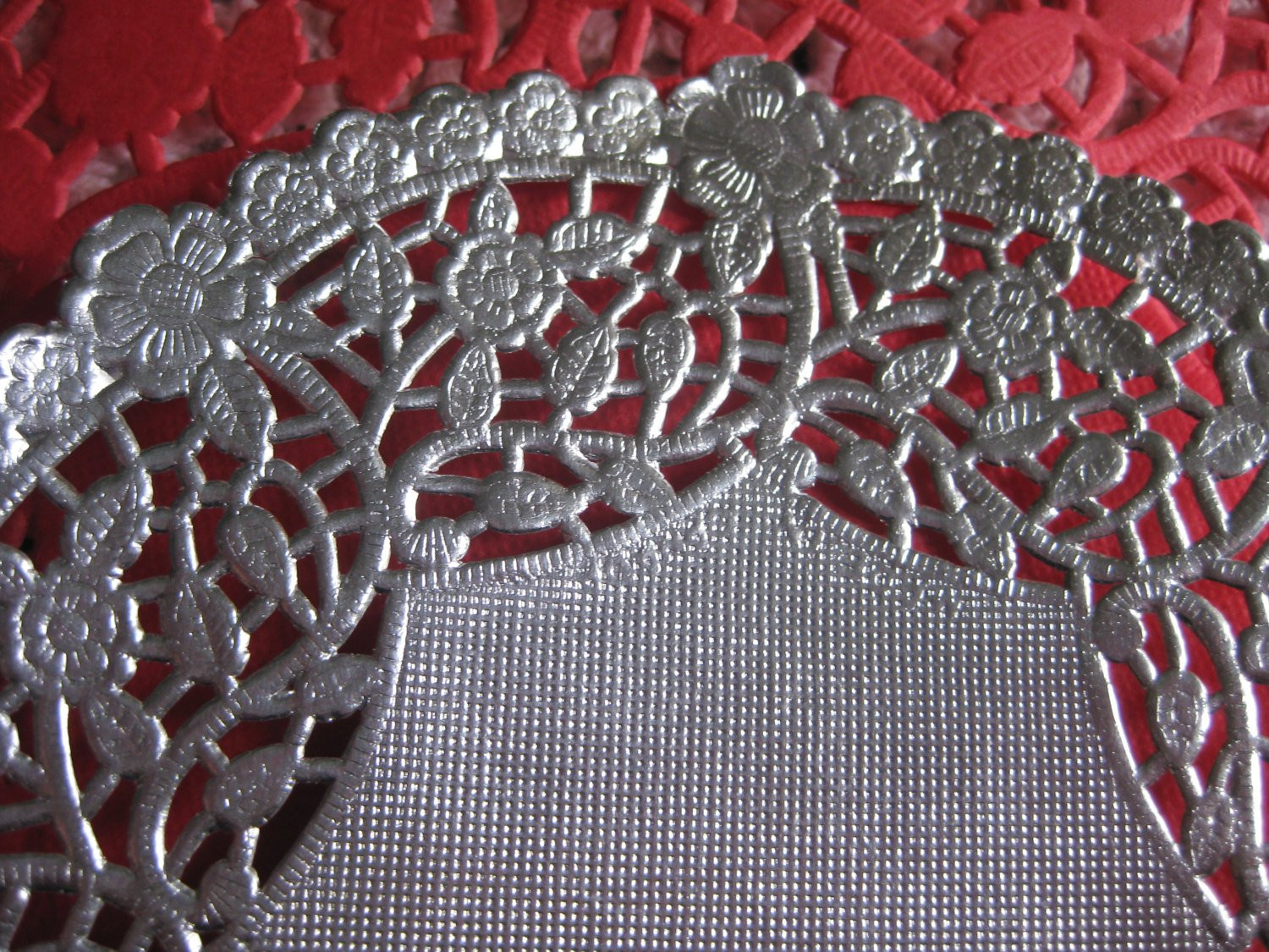 Silver Doilies Beautiful 6 Inch Round Metallic Silver Foils Paper Lace Doily Of Top 47 Pictures Silver Doilies