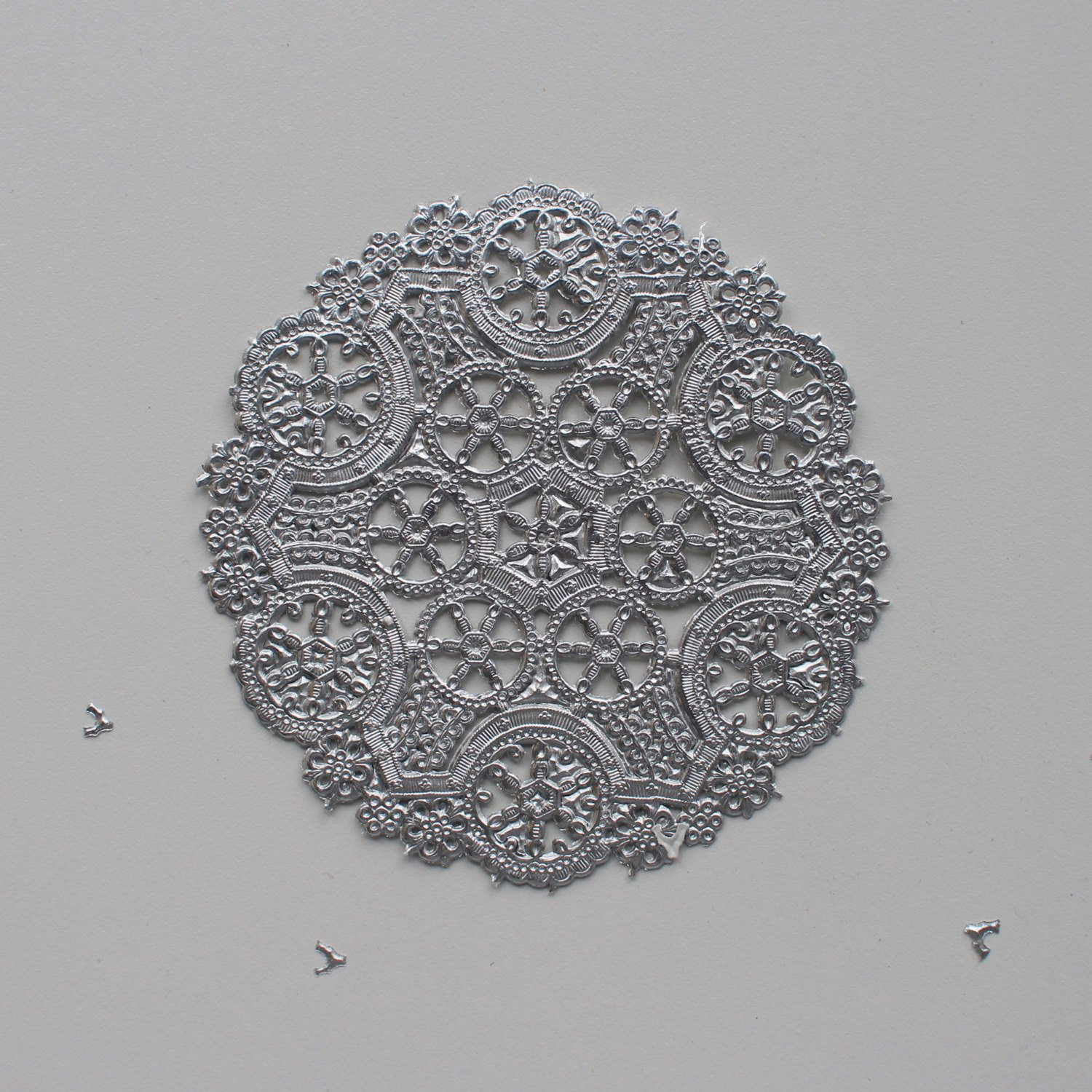 Silver Doilies Best Of 10 Metallic Silver 4 Round Medallion Doilies Foil Lace Of Top 47 Pictures Silver Doilies