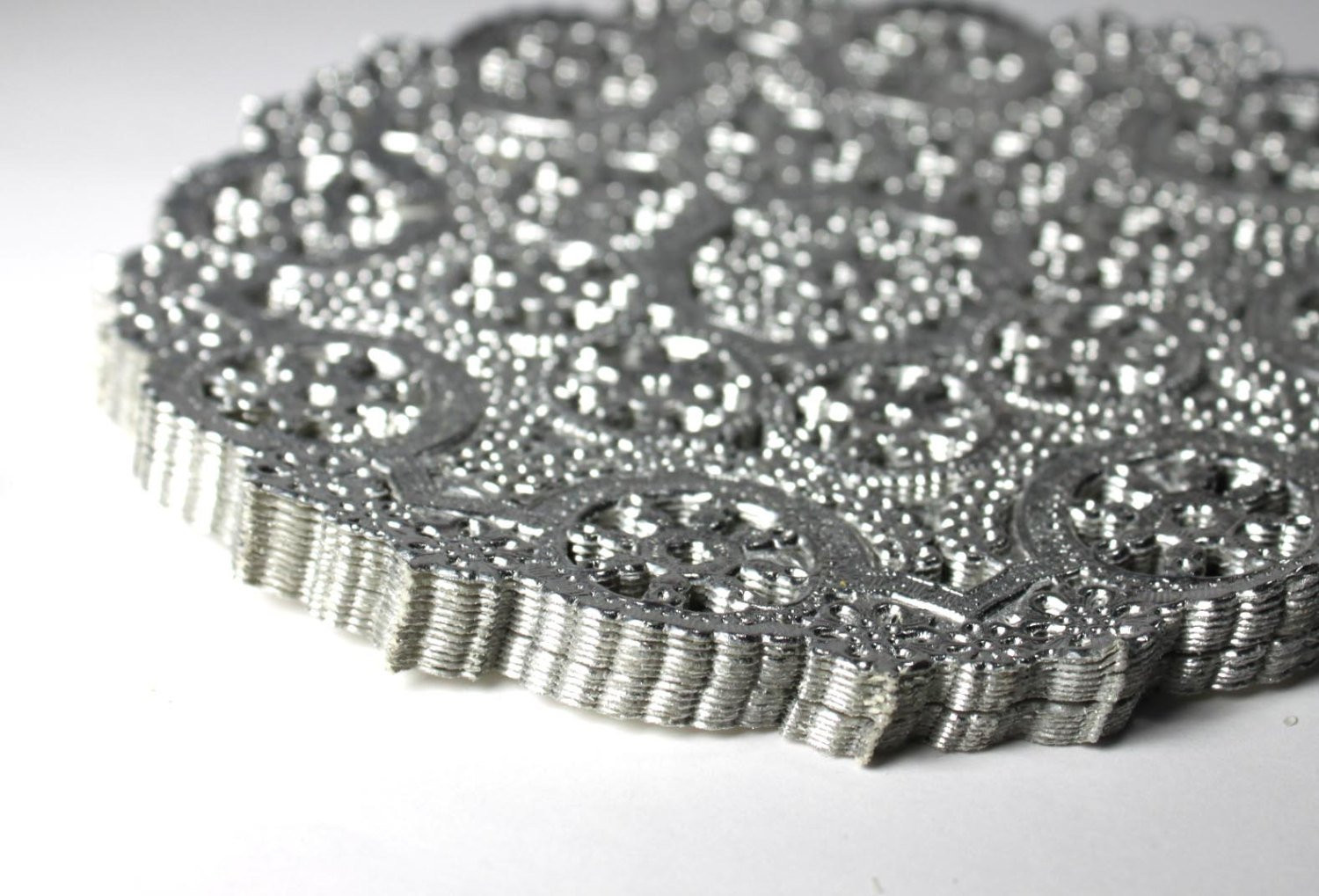 Silver Doilies Elegant 50 Silver 8 Inch Paper Doilies Round Silver Metallic Doilies Of Top 47 Pictures Silver Doilies